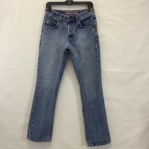 Silver Jeans 28x32 Straight Leg Button Fly Jeans